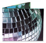 Disco Ball Tyvek Mighty Wallet Wallet