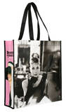 Audrey Hepburn Large Recycled Shopper Tote Bag