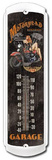 Motorhead Garage Indoor/Outdoor Thermometer Tin Sign