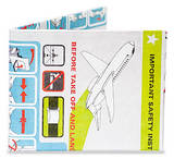 In Flight Tyvek Mighty Wallet Cartera