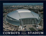 Dallas Cowboys Stadium Inaugural Day Sports Poster