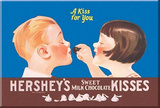 Hershey&#39;s Chocolate Kisses A Kiss for Your Magnet Magnet
