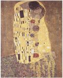 Kyssen Posters av Gustav Klimt