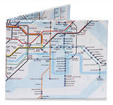 The Underground London Tyvek Mighty Wallet - Wallet