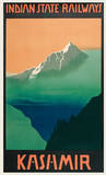 Kashmir Indian State Railways Poster
