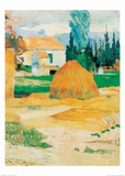 Ferme a Arles Prints by Paul Gauguin