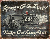 Racing with the Devil Tin Sign