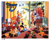 Disney Babies Play Room Prints