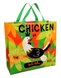 Chicken or the Egg Shopper Bag Sac cabas