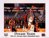 Dream Team, c.1996 U.S. Olympic Men's Basketball Atlanta Posters by Bart Forbes