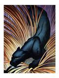 Panthère noire Posters par Frank Mcintosh