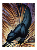 Black Panther Plakater av Frank Mcintosh