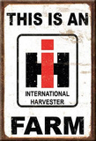 This Is An IH Farm International  Magnet Magnet
