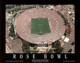 Rose Bowl Women's Soccer Championships July 10, c.1999 Sports Poster by Mike Smith