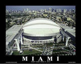 Miami Marlins Park Sports Posters