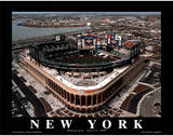 New York Mets Citi Field First Opening Day April 13 2009 Sports Posters by Mike Smith