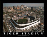 Detroit Tigers Tiger Stadium Final Day Sept. 27, c.1999 Sports Poster by Mike Smith