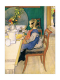 Late Riser&#39;s Breakfast Posters by Carl Larsson
