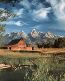 Grand Tetons (Barn) Print