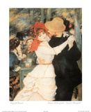 Dance At Bougival Photo by Auguste Renoir