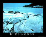 Blue Moods (Motivational) Posters