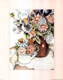 Pretty Vase Flower Print