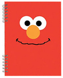Sesame Street Elmo Lenticular Spiral Notebook Journal