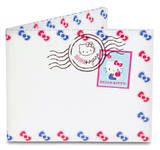 Hello Kitty Airmail Tyvek Mighty Wallet Wallet
