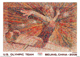 Gymnast U.S. Olympic Team Beijing 2008 Posters by  Hopper