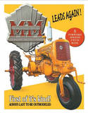 MM Minnie Mo Tractor Leads Again Tin Sign