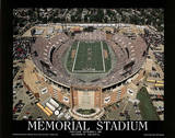 Baltimore Ravens Memorial Stadium First Game Sept 1, c.1996 Sports Art par Mike Smith