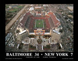 Super Bowl XXXV Baltimore Ravens 34 New York Giants 7 Raymond James Stadium Tampa Plakater