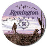 Remington Country Hunting Round Tin Sign