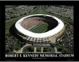 Washington Redskins RFK Memorial Stadium Sports Posters av Mike Smith