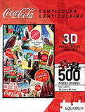 Coca-Cola 500 Piece 3-D Lenticular Jigsaw Puzzle Puzzle