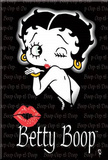 Betty Boop Blowing Kiss Magnet Magnet