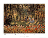 Jour d'Ete Print by Claude Monet