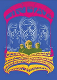 Cream Tour Tin Sign