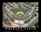 Chicago Cubs Wrigley Field Sports Posters by Mike Smith