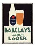 Barclay's London Lager Art