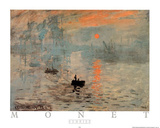 Impression Sunrise Posters by Claude Monet