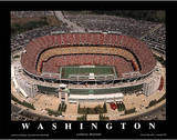 Washington Redskins Fedex Field Sports Art by Mike Smith