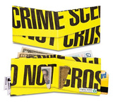 Crime Scene Tyvek Mighty Wallet Wallet