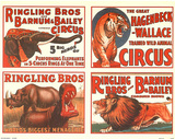 Ringling Bros and Barnum & Bailey Circus Ad Posters
