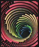 Cosmic Tunnel Blacklight Reactive Cloth Wall Hanging Poster