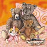 Kids Teddy Bears IV Posters