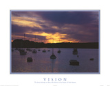 Motivational Vision The Future Belongs Posters