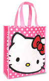Hello Kitty Small Recycled Shopper Tote Bag