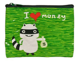 I Heart Money Coin Purse Coin Purse