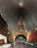 La Tour Eiffel Poster by R. Magrini